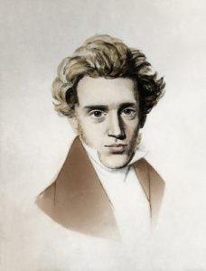 Kierkegaard, omstreeks 1838