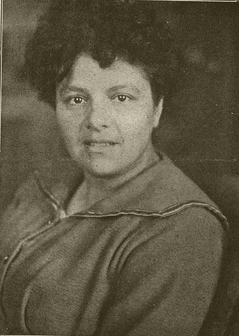 De schrijfster Carry van Bruggen, 1881 - 1932