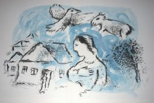 chagall litho