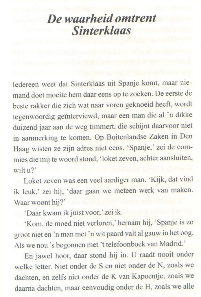 Bomans Ontmoette Sinterklaas In Medias Res