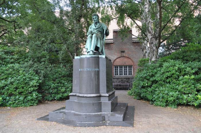 Standbeeld in Kopenhagen