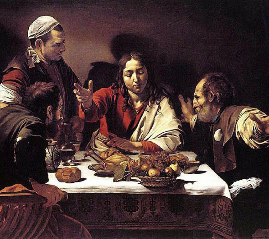 Caravaggio, Emmaüs-maaltijd