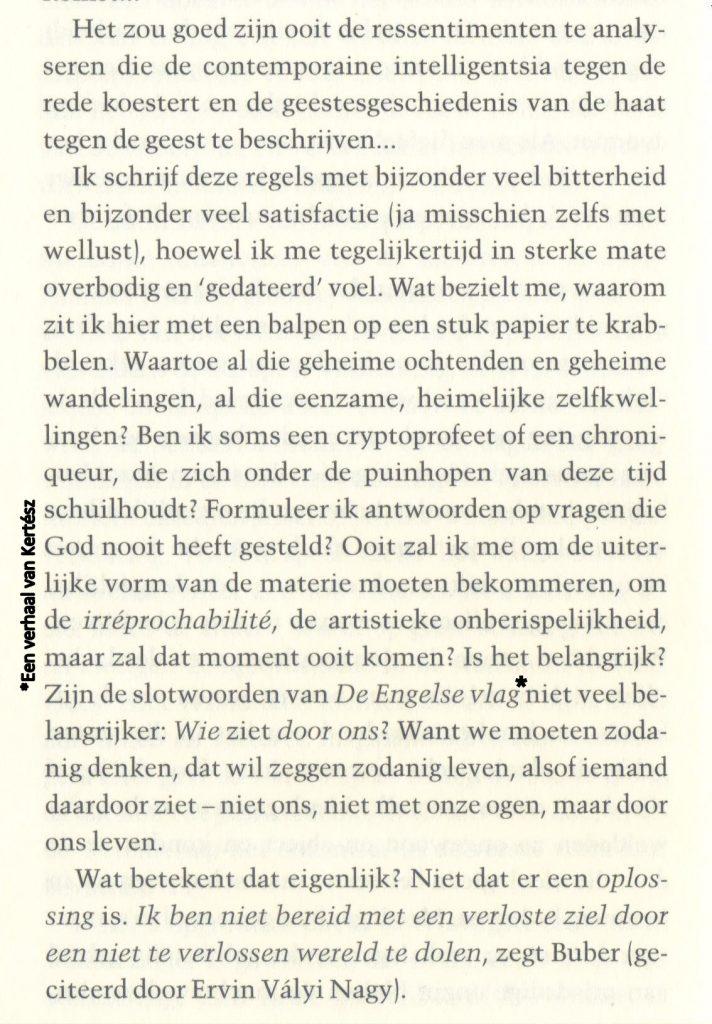 Imre Kertész - Ik, de ander, p.72