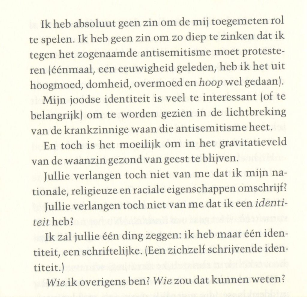 Imre Kertész - Ik, de ander, p.56