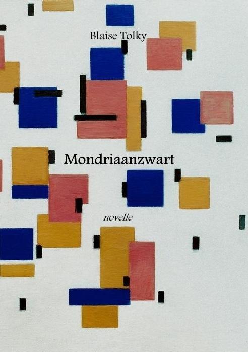 """Mondrian, Piet 1872–1944. """"Komposition in Farbe B"""", 1917. Öl auf Leinwand, 50 × 44,7 cm."""