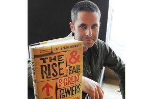 VANCOUVER ,BC -- June 4, 2014 -- Local author Tom Rachman promotes his latest book in Vancouver on June 4, 2014. (Wayne Leidenfrost/PNG) (Story for by Tracy Sherlock) [PNG Merlin Archive]