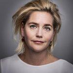 Stine Jensen, auteur. Foto gemaakt in opdracht van Hollands Diep.