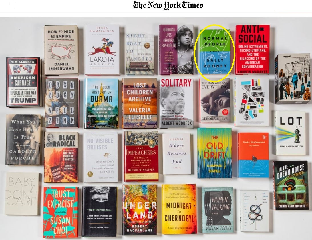 new york times best 2019